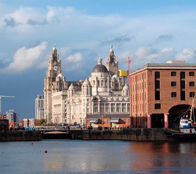 ciudades para aprender inglés Liverpool