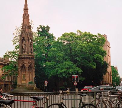 ciudades para aprender inglés Oxford
